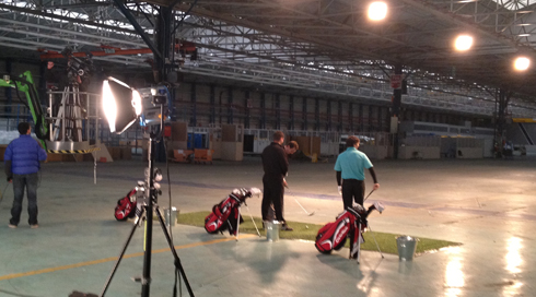 Onside PR Are TaylorMade For TV Advert