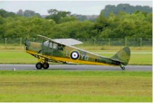 Hornet Moth Flight Recreated