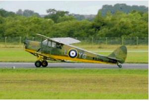 Hornet Moth Flight Recreated