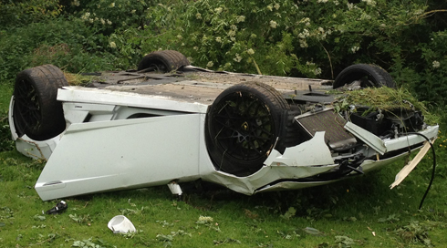 Seatbelt May Have Saved Lamborghini Crash Dad