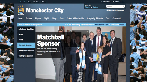 ICP Networks Sponsor Manchester City