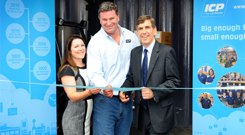 ICP Networks Open Greenest IT HQ in UK