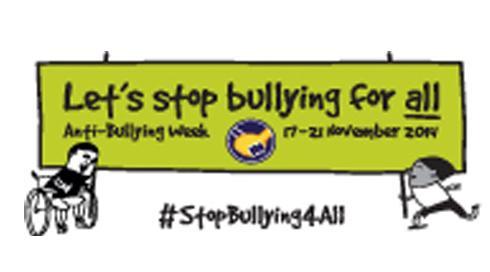 Mobile Force Field Back Anti Bullying Week