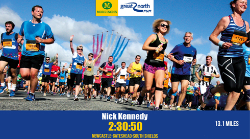 Speedy Finish For Diamond Charity Run