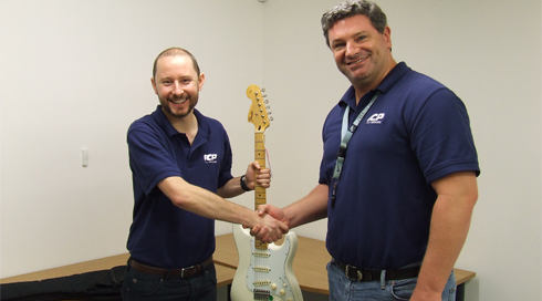 Rendell Rocks Ten Years With ICP Networks