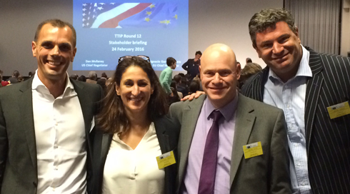 ICP Networks MD Archer In TTIP Trade Talks