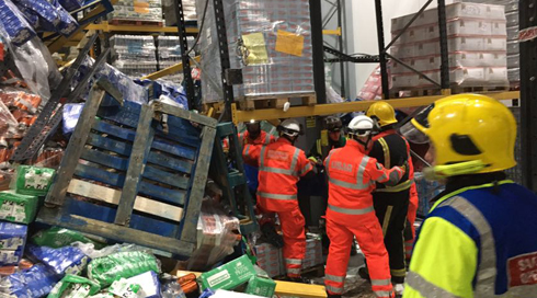WASP Deployed During Milk Warehouse Rescue