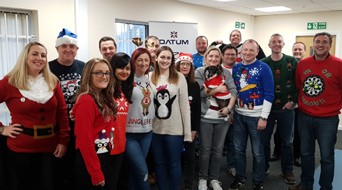 Datum Support Christmas Jumper Day