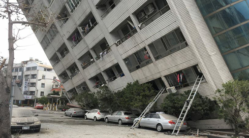 WASP Plays Crucial Role In Taiwan Earthquake
