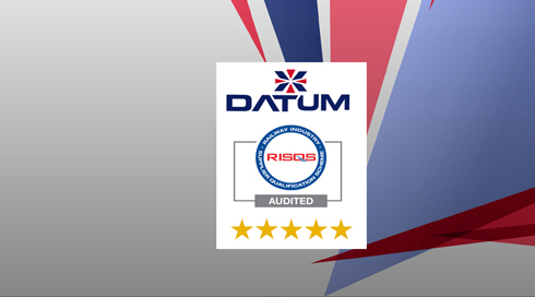 Datum Secure Five Star RISQS Rating