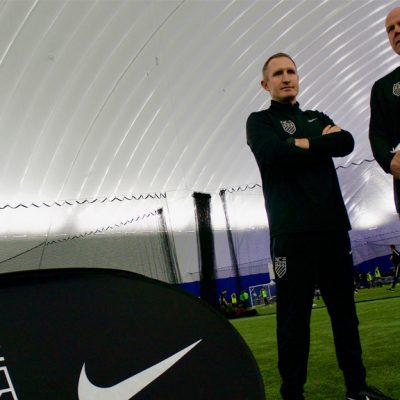 Goalkeeping-legend-Brad-Friedel-has-been-reunited-with-Blackburn-Rovers-teammate-John-Curtis-at-NCE-Soccer