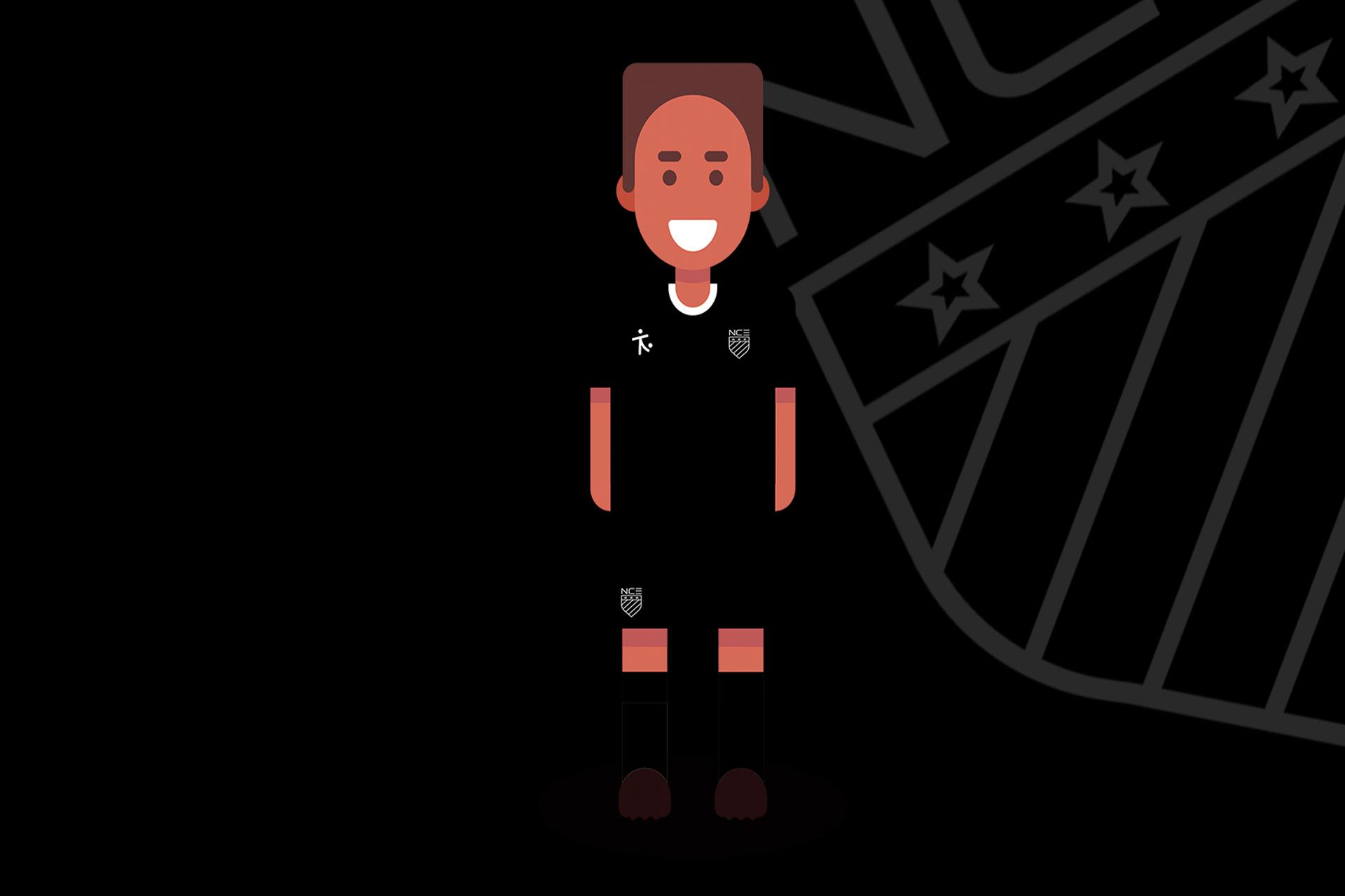 NCE Soccer TopTekkers Partnership