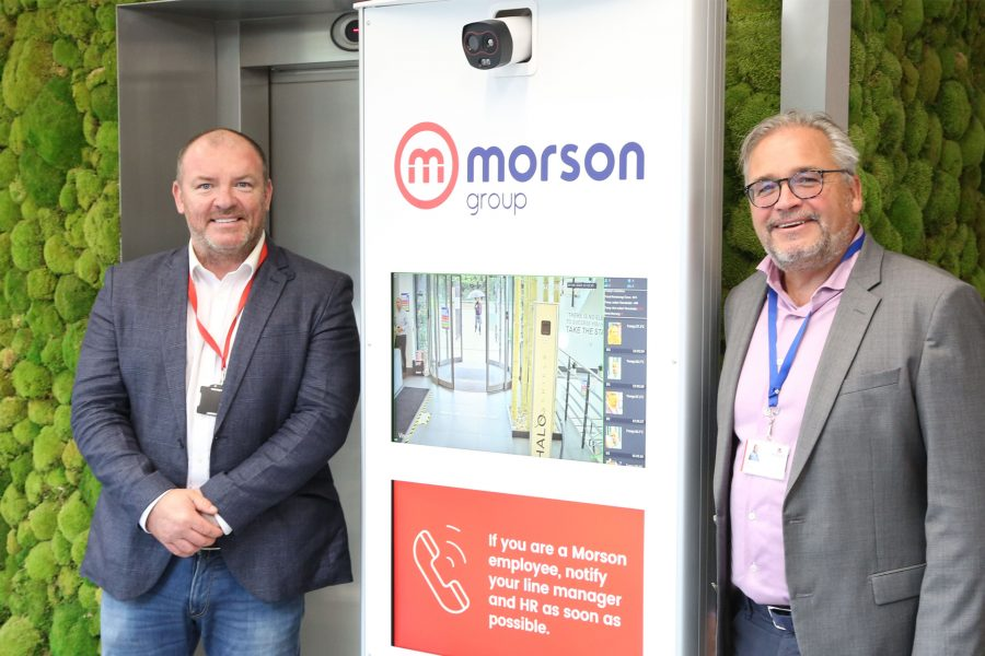 Morson Group Protected by Halo Shield
